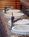 Sauna sinks Royalty Free Stock Photos
