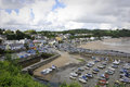 Saundersfoot pembrokeshire wales is a community in west it is a seaside resort and along with nearby tenby is one of the most Stock Images