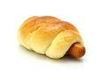Sausage bread Royalty Free Stock Photo