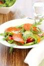 Sausage or Chorizo salad Stock Images