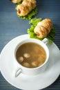 Sausage soup Royalty Free Stock Photo