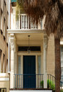 Savannah Townhouse Door Stock Images