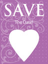 Save The Date Announcement Stock Images
