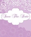 Save the date announcement this is a vertical abstract illustration for a or invitation Stock Photo