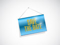 Save The Date Hanging Banner I...