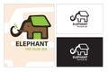 Save Elephant House Tree Animal