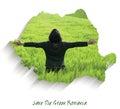 Save the Green Romania Royalty Free Stock Photo
