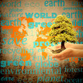 Save the planet earth Royalty Free Stock Photo