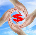 Saving Dollar Concept Stock Image