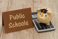 Saving on education by attending public schools Royalty Free Stock Photo