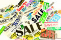 Saving Money With Coupons And Special Deals Royalty Free Stock Photo