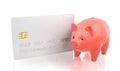 Savings Bank Account Royalty Free Stock Photo