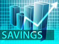 Savings finances Stock Photography