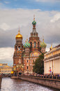 Savior on Blood Cathedral in St. Petersburg, Russia Royalty Free Stock Photos