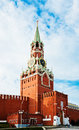 The Saviour (Spasskaya) Tower of Moscow Kremlin, Royalty Free Stock Photos