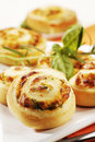 Savory pastries Royalty Free Stock Images