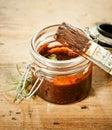 Savoury BBQ basting sauce Royalty Free Stock Photo