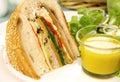 Savoury Cob Loaf Royalty Free Stock Photo