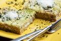 Savoy cabbage lasagne Royalty Free Stock Photo