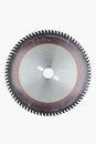 Saw blade pvd coated for wood on white background Stock Photos
