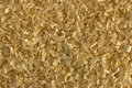 Sawdust for rodents texture Royalty Free Stock Images
