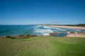 Sawtell ocean beach endless near new south wales australia Stock Image