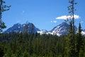 Sawtooth Mountains - Idaho Royalty Free Stock Photo