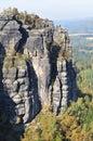 Saxon Switzerland Royalty Free Stock Image