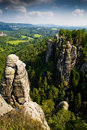 Saxon Switzerland 4 Stock Photography