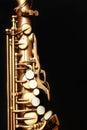 Saxophone alto Royalty Free Stock Photo