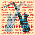 Saxophone de jazz Photographie stock