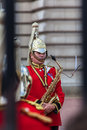 Saxophone Player London Stock Photography