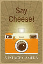 Say Cheese poster Stock Images
