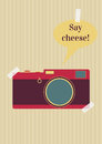 Say cheese Royalty Free Stock Photo