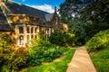 The Sayre House at Washington National Cathedral in Washington, Royalty Free Stock Photo