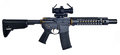 SBR AR15 / M16 With Collapsible Stock, 10` Barrel With Large Muzzle Device