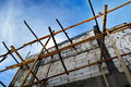 Scaffold for building Royalty Free Stock Photo