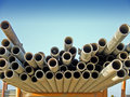 Scaffold Poles Stock Photos