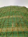 The scaffold Royalty Free Stock Photo