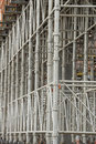Scaffolding at construction site panama central america Royalty Free Stock Photography