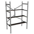 Scaffolding ladder - 3D render Royalty Free Stock Photo