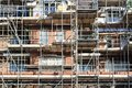 Residential building under construction Royalty Free Stock Photo