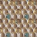 Scale pattern decorative seamless with volume effect Royalty Free Stock Photo