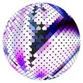 Scaled ball Royalty Free Stock Photography
