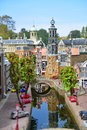 Scaled replica of traditional dutch canal houses at madurodam minature park hague september taken on september in hague Stock Images