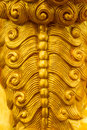 Scales of the dragon statue stucco surface of animal sky Stock Images