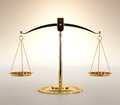 Scales of Justice Royalty Free Stock Photography
