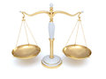 Scales of Justice Royalty Free Stock Photo