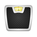 Scales vector illustration of on white eps Stock Image