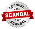 Scandal round silver badge